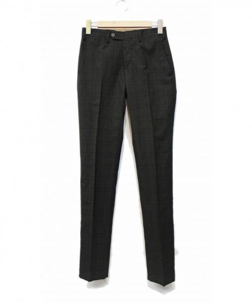 GERMANO for EDIFICE(ジェルマーノフォーエディフィス)GERMANO for EDIFICE (ジェルマーノフォーエディフィス) テーパードパンツ グレー サイズ:42 未使用品の古着・服飾アイテム