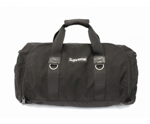 Supreme(シュプリーム)Supreme (シュプリーム) Side Zip Duffle Bag ブラックの古着・服飾アイテム