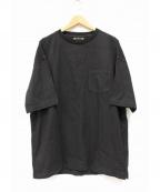 MINEDENIM(マインデニム)の古着「プルオーバーポケットシャツ」|ブラック