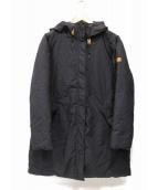 AIGLE(エーグル)の古着「Hooded Down Jacket」|ネイビー