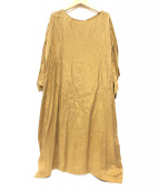 HOUSE OF LOTUS(ハウスオブロータス)の古着「Vintage Cupra Dress」 ベージュ