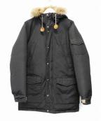 Mt. Rainier Design(マウントレイニアデザイン)の古着「オフィサーダウンジャケット」 ブラック