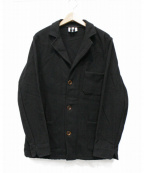 Yarmo(ヤーモ)の古着「ワークジャケット」 ブラック