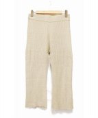 Deuxieme Classe(ドゥーズィエムクラス)の古着「ikat風 パンツ」|ベージュ