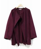 CASA FLINE(カーサフライン)の古着「ハーフコート」|パープル