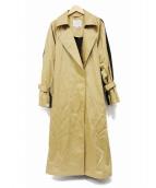 LAUTRE AMONT(ロートレアモン)の古着「トレンチコート」 ベージュ