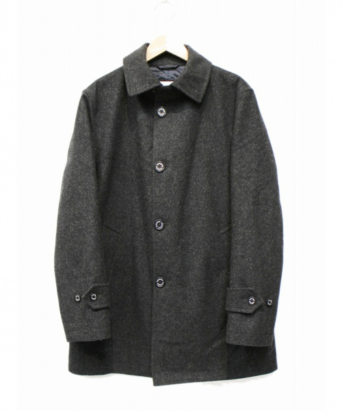 MACKINTOSH PHILOSOPHY(マッキントッシュフィロソフィー)MACKINTOSH PHILOSOPHY (マッキントッシュフィロソフィー) ステンカラーコート グレー サイズ:38の古着・服飾アイテム
