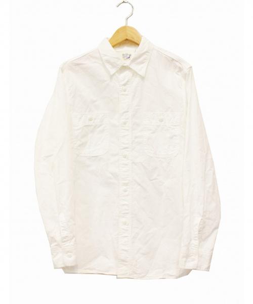 orSlow(オアスロウ)orSlow (オアスロウ) ワークシャツ ホワイト サイズ:2の古着・服飾アイテム