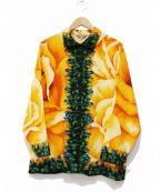 TOKUKO1erVOL(トクコプルミエヴォル)の古着「柄シャツ」 オレンジ