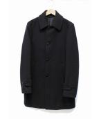 SHIPS(シップス)の古着「ウールカーコートジャケット」|ネイビー