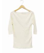 Plage(プラージュ)の古着「Cotton ribプルオーバー」