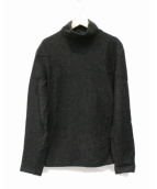 nestrobe confect(ネストローブ コンフェクト)の古着「Wool Boucle High Neck Pullove」 ブラック