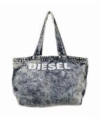 DIESEL(ディーゼル)の古着「ブリーチデニムトートバッグ」|インディゴ