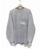 KITH(キス)の古着「L/S QUINN POCKET TEE」|インディゴ