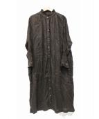 nest Robe(ネストローブ)の古着「リネンワンピース」|ブラウン