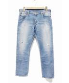 Ron Herman(ロンハーマン)の古着「ジョグデニムパンツ」|ライトブルー