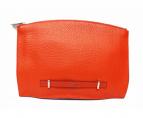 FURLA(フルラ)の古着「クラッチバッグ」|オレンジ