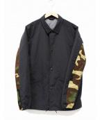 SOPH.(ソフ)の古着「コーチジャケット」|ブラック