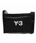 Y-3()の古着「ショルダーバッグ / サコッシュ」|ブラック