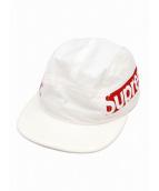 Supreme(シュプリーム)の古着「サイドパネルキャンプキャップ」|ホワイト