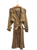 UNGRID(アングリッド)の古着「ルーズトレンチコート」 ブラウン