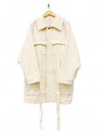 KURO CHARLIEMAY(クロ チャーリーメイ)の古着「デザインCPOジャケット」|アイボリー