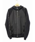 D&G(ディーアンドジ)の古着「ジップパーカー」|ブラック