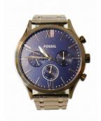 FOSSIL(フォッシル)の古着「クロノグラフウォッチ」