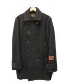 Hysteric Glamour(ヒステリックグラマー)の古着「HYSTERIC DEMONES Pコート」|ブラック