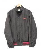TMT(ティーエムティー)の古着「ビンテージロゴナイロンブルゾン」|ブラック