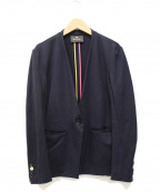 PS Paul Smith(PSポールスミス)の古着「ミラノジャージーテーラリングジャケット」|ネイビー