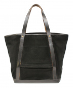 SLOW(スロウ)の古着「スウェードレザートートバッグ」|ブラック