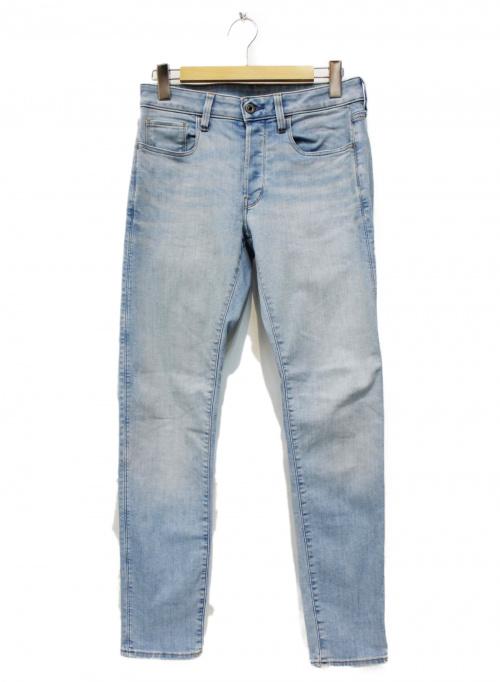 G-STAR RAW(ジースターロゥ)G-STAR RAW (ジースターロゥ) ウォッシュドスリムデニムパンツ ブルー サイズ:29の古着・服飾アイテム