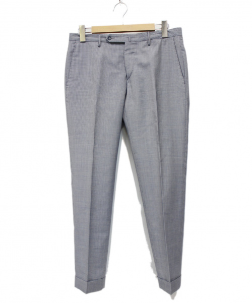 INCOTEX(インコテックス)INCOTEX (インコテックス) super100'sスラックス ブルー サイズ:46の古着・服飾アイテム
