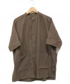 YANTOR(ヤントル)の古着「Amunzen Box Shirts」 ブラウン