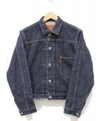 LEVIS(リーバイス)の古着「復刻1stデニムジャケット」|インディゴ