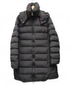 TATRAS()の古着「ポリアテマダウンコート」 ブラック