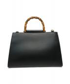 ()の古着「ニム2WAYハンドバッグ」|ブラック