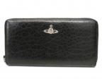 Vivienne Westwood()の古着「オーブレザー長財布」 ブラック