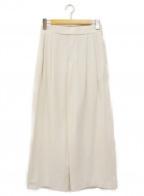 BEARDSLEY(ビアズリー)の古着「ワイドパンツ」 ホワイト