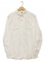 PHERROWS(フェローズ)の古着「ワークシャツ」|ホワイト