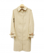MACKINTOSH()の古着「ゴム引きコート」 ベージュ