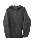MARMOT()の古着「ウールラップメトロパーカー/ジャケット」|ブラック