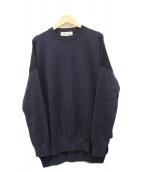 ENFOLD(エンフォルド)の古着「ハイゲージニットPO」|ネイビー
