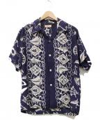 Sun Surf(サンサーフ)の古着「航海アロハシャツ」|ネイビー
