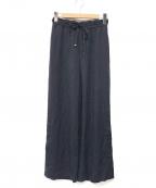 BLUE LABEL CRESTBRIDGE(ブルーレーベルクレストブリッジ)の古着「イージーパンツ」|ネイビー