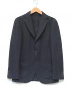 RING JACKET(リングジャケット)の古着「ウールテーラードジャケット」 ネイビー