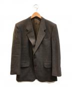 Christian Dior MONSIEUR(クリスチャンディオールムッシュ)の古着「[OLD]チェックテーラードジャケット」|ブラウン