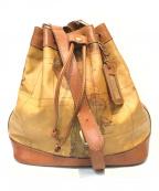 PRIMA CLASSE(プリマクラッセ)の古着「ショルダーバッグ」 ベージュ