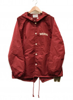WEIRDO(ウィアード)の古着「SIG - RAIN PARKA」|レッド